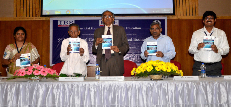 Release-of-Book-of-Abstracts-at-the-5th-International-Conference-on-Appl_ied-Econometrics-at-ICFAI-Business-School